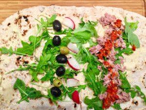 Tuniakovo olivový chilli wrap