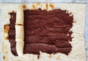 Kokosovo-čokoládový krém s lavašom