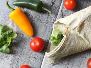 Fazuľové burrito v Lavaši - 21