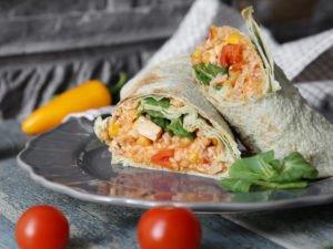 Fazuľové burrito v Lavaši - 41