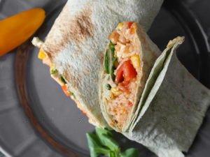 Fazuľové burrito v Lavaši - 51