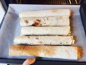 Jablkovo škoricová Štrúdľa s gaštanovým pyré a čučoriedkami IMG_9442