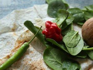 Ľahká šampiňónová Lavaš quesadilla 11