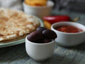 Ľahká šampiňónová Lavaš quesadilla 31