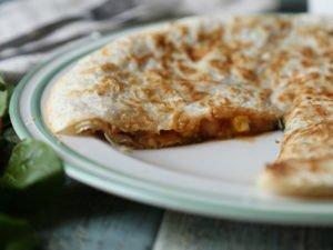 Ľahká šampiňónová Lavaš quesadilla 41