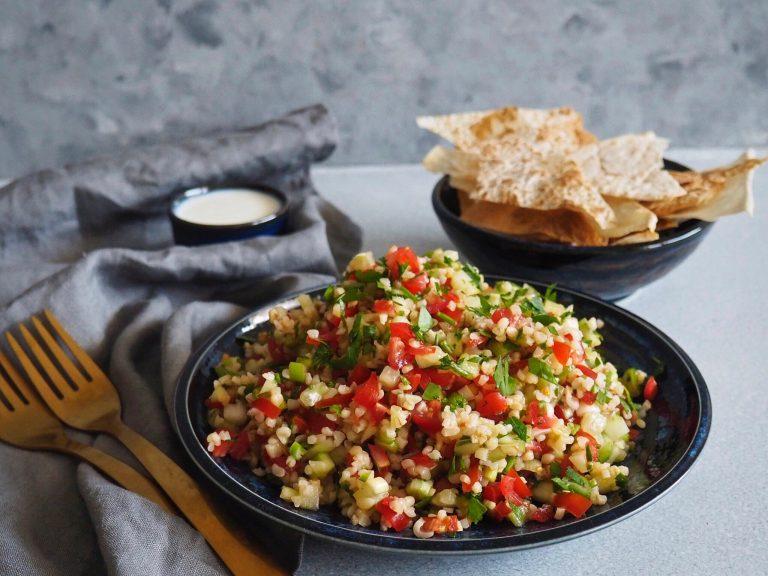 Salat Tabouleh s lavasom