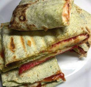 Špenátové toasty2