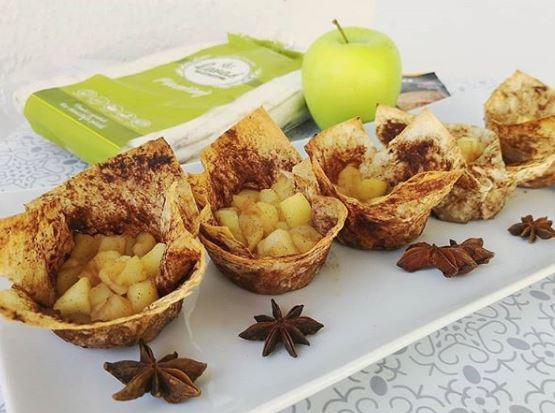 Jablkovo-škoricové košíčky