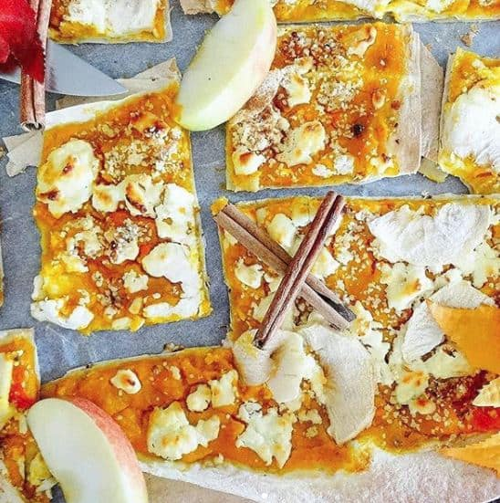 Jesenná pizza