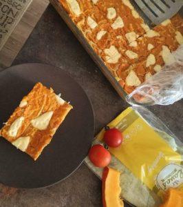 Lavaš hokkaido lasagne