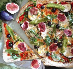 Lavaš zdravá pizza