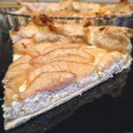 Hruškovo-tvarohový koláč