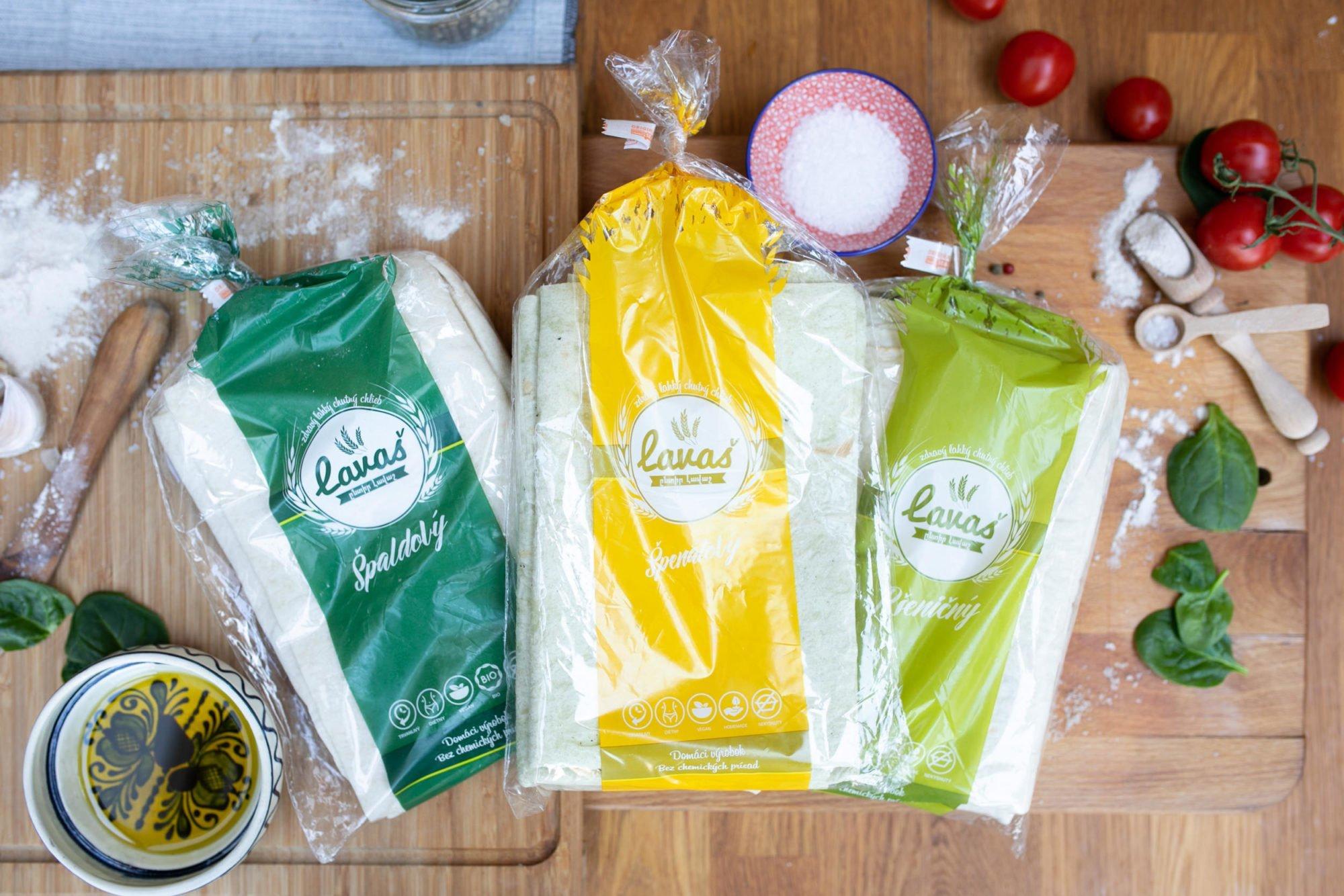 Lavaš trio chlebov