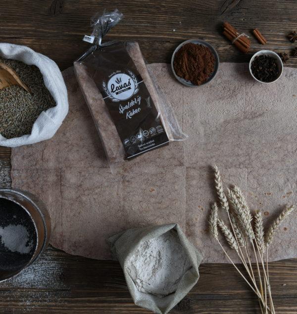 Lavaš chlieb Bio Špaldový Kakao 450g (3ks)