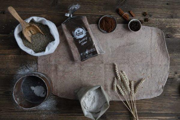 Špaldový lavaš kakaový