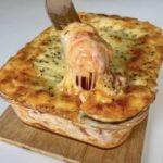 Bezmäsité lasagnez lavaša