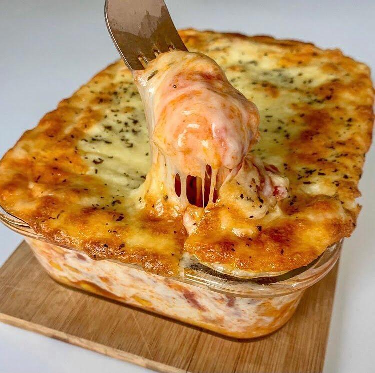Lavaš lasagne