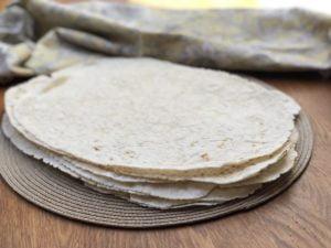 Bezlepkový chlieb lavaš